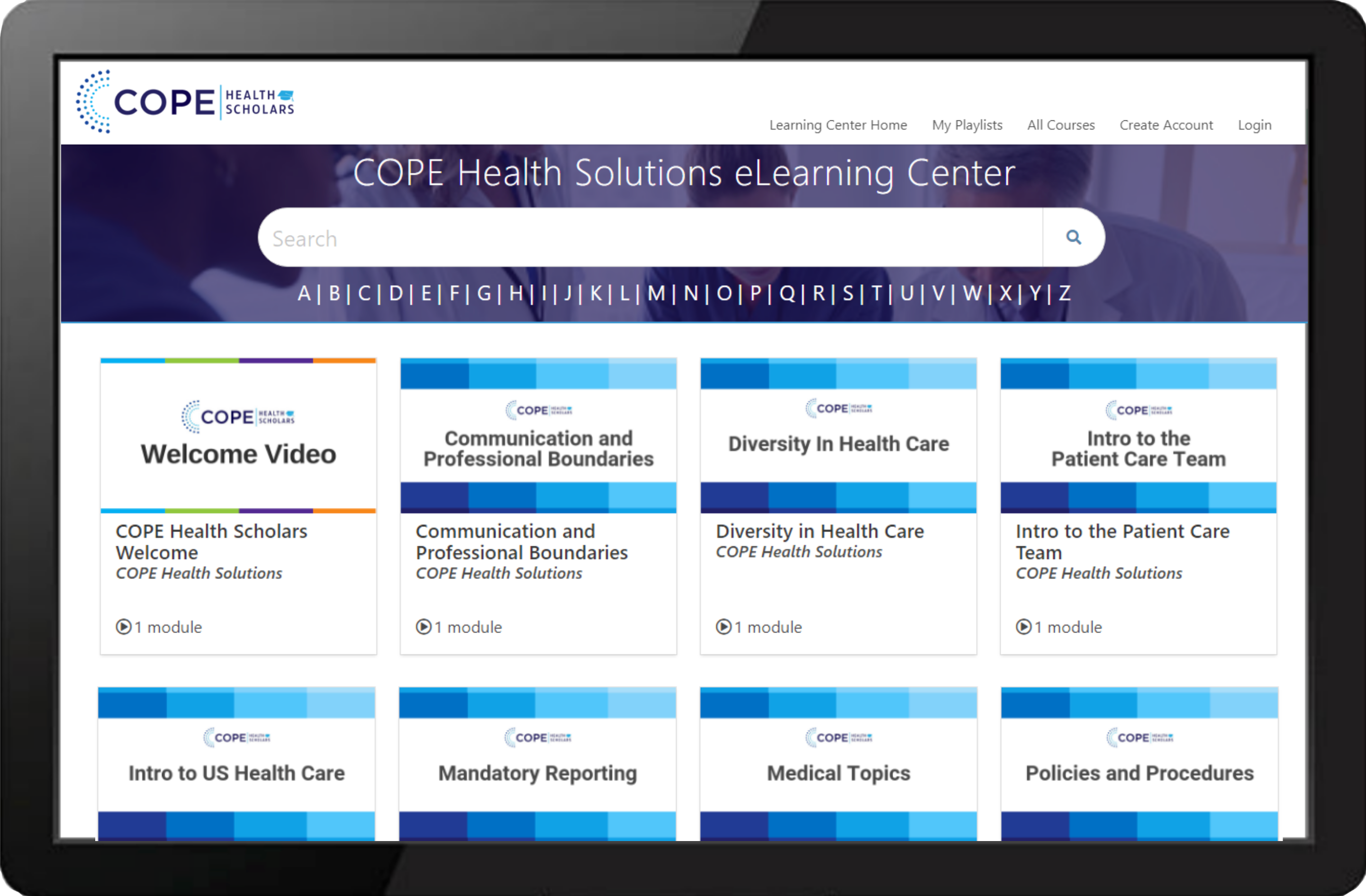 Cope Learning Center Example