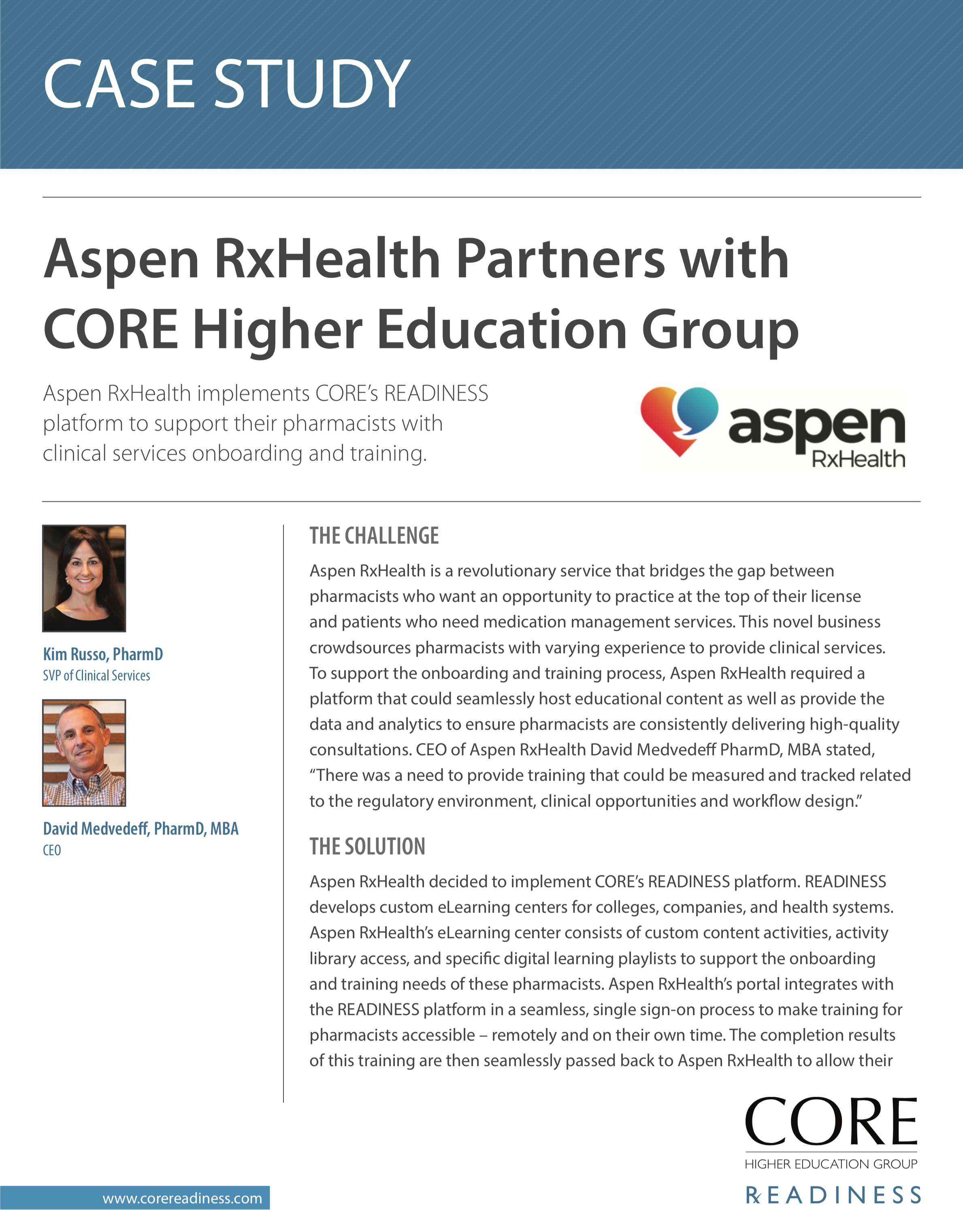 Aspen RxHealth Case Study