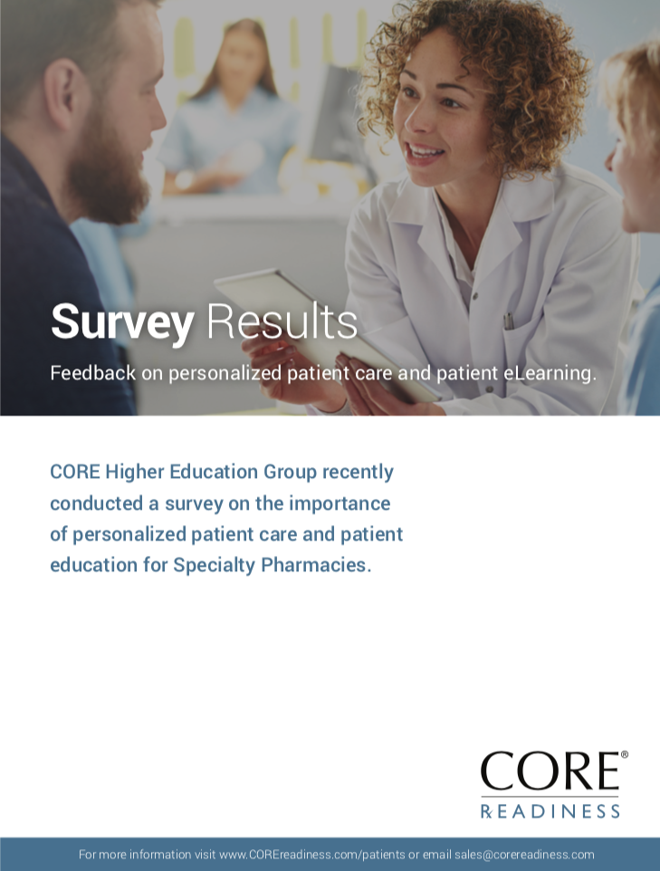 READINESS Specialty Pharmacy Survey Results