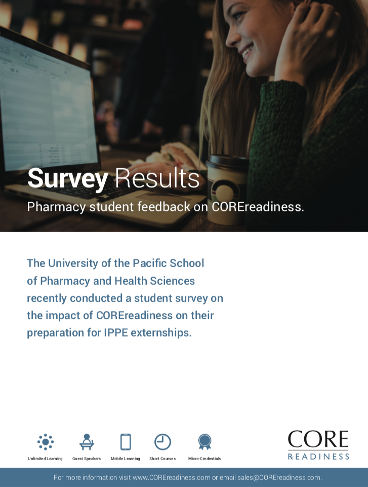 READINESS University of Pacific Survey Results